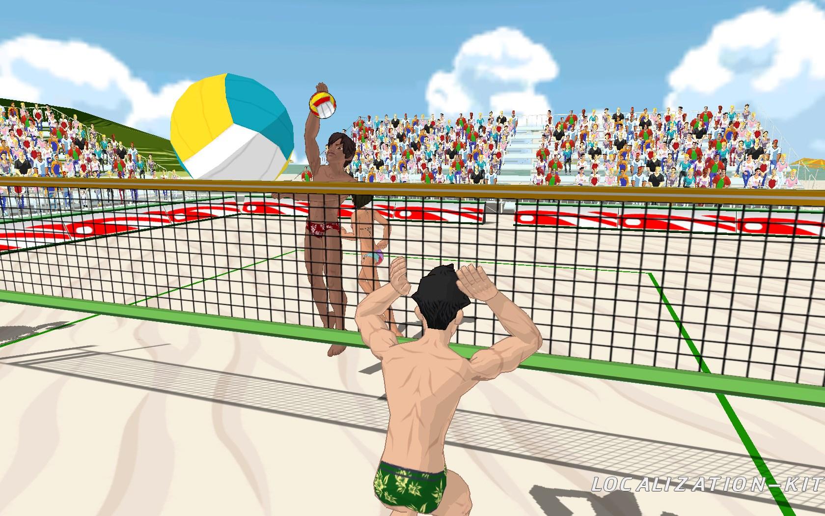 """Улетный пляжный волейбол"""": море, солнце и азарт - Компания """"СофтКлаб"""
