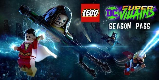 Lego суперзлодеи Dc представлен сезонный абонемент